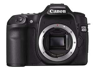Canon EOS 40D body 10.5MP CMOS 3888 x 2592pixels Black - digital cameras (10.5 MP, 3888 x 2592 pixels, CMOS, 740 g, Black)