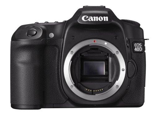 Canon EOS 40D SLR-Digitalkamera (10 Megapixel, Live-View) Gehäuse - Kamera-ladegerät Canon Eos