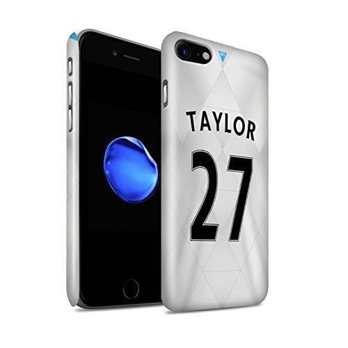 Offiziell Newcastle United FC Hülle / Glanz Snap-On Case für Apple iPhone 7 / Dummett Muster / NUFC Trikot Away 15/16 Kollektion Taylor