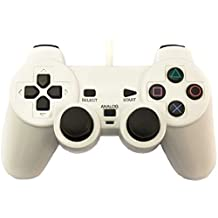 First Play Wired Joystick Controller for PS-2 (White)