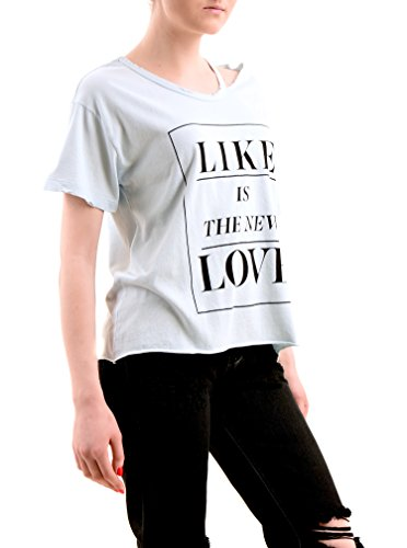 Wildfox Donna Like Is The New Love Top Tee Blue Tears