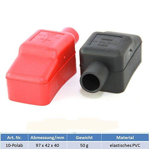 Batterie Polklemmenabdeckung aus elastischem PVC - Paarweise Marine-starterbatterie