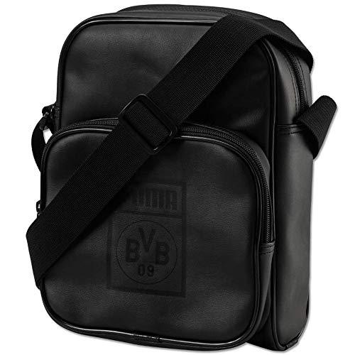 Puma BVB Reporter Bag Funda, PUMA Black de Cyber Yellow, UA