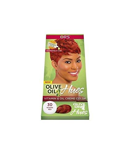 ORS teintes Crème à la vitamine et de l'huile d'olive, Raging Couleur Rouge