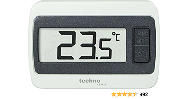 Technoline Ws 7002 Thermometer Digital Min Max Temperaturanzeige Weiß 6 0 X 1 4 X 4 0 Cm Garten