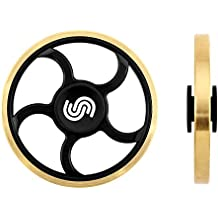Fidget Spinner Toy Hand Spinner Fidget Toy with Copper Wheel, EDC Spinner Fidget Toy by Spreaze, and Ultra Speed - Premium Hybrid Ceramic Bearing.