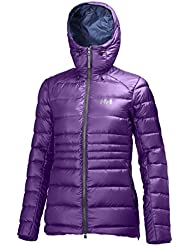 Helly Hansen icefall – Chaqueta Mujer, Mujer, color Sunburned Purple, tamaño large