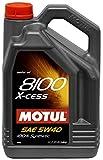 Motul 8100 X-cess 5W40 Olio Motore Sintetico, 5 l