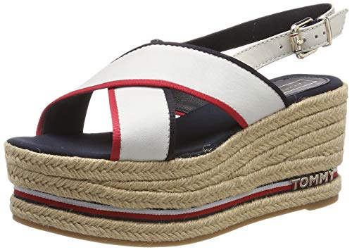 Tommy Hilfiger Flatform Sandal Corporate Ribbon