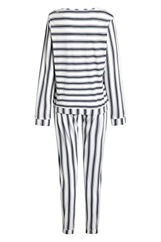 next Pyjama rayé Standard Femme Gris/Blanc