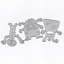 KIMODO DIY troquelado plantillas para álbum de recortes álbum tarjetas de ...