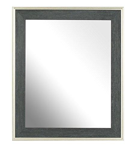 Inov8-8-x-1524-cm-Marco-para-espejo-tradicional-Austen-grisPlateado