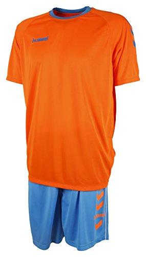 -Set Essential, Orange/Scuba Blue, S, 06-095-6726 (Hummel Anzug)