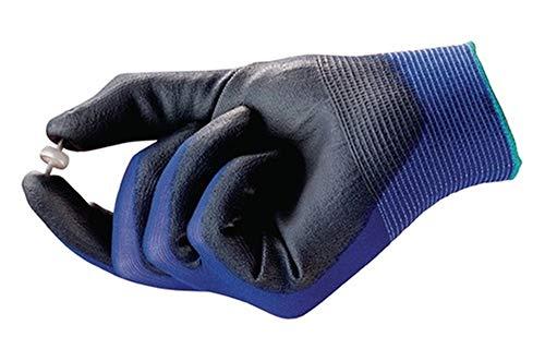 Handschuhe HyFlex® 11-618, Größe 7 blau/schwarz, 12 Paar