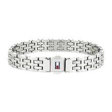 Tommy Hilfiger Jewelry Men Stainless Steel Link Charm Bracelet - 2701062