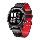 Sport Schritt für Schritt tragen Smartwatch Bluetooth Headset Kombination Smartwatch, Blutdruck Sauerstoff Herzfrequenz Smartwatch-red