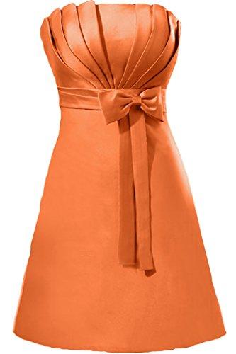 Missdressy -  Vestito  - plissettato - Donna Arancione