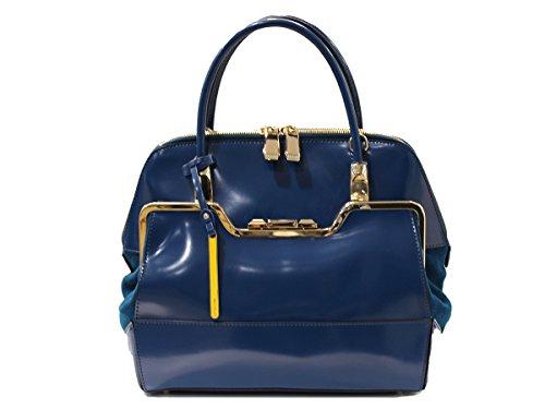 Cromia Ladies Bag Minerva - Blu Borsa - Vera Pelle - borsa donna - buona qualità