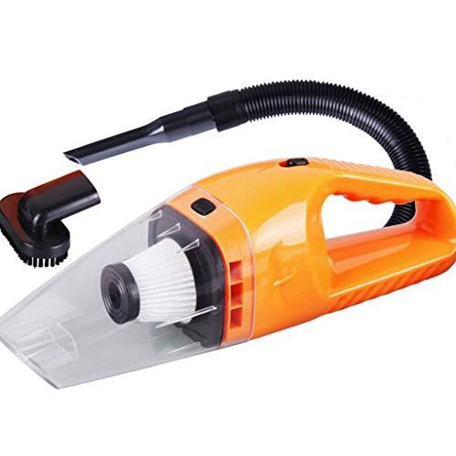 MA87 Autostaubsauger Handstaubsauger Dirt Dust Neue tragbare 12V 120W Wet Dry (Orange)