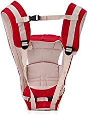Chhote Saheb Baby Carrier Shoulder Belt Sling Backpack Baby Holding Strap Adjustable Carry Bag Baby Carrier  (Red, Front Carry Facing Out)