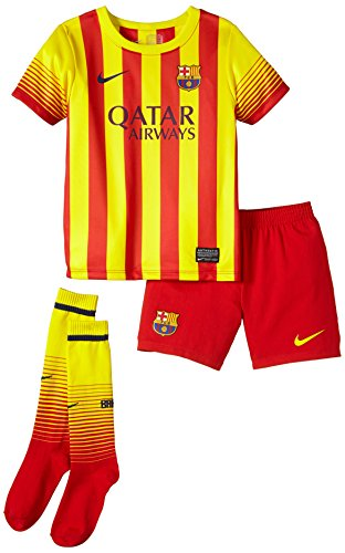 Nike Jungen Light Away Kit FC Barcelona