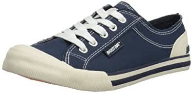 Rocket Dog Women's Jazzin Canvas Low-Top Sneakers - Blue (8A Canvas Navy), 3 UK (36 EU)