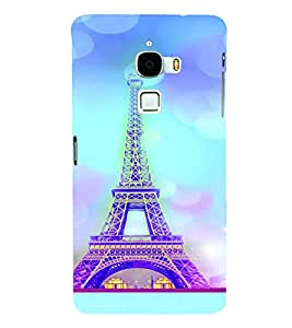 PrintVisa Travel Paris Eifel 3D Hard Polycarbonate Designer Back Case Cover for LeEco Le Max