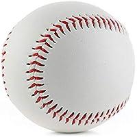 VelvxKl Doux Baseball Sport compétition Practise Ballon d'entraînement Softball 22,9cm, White + Red