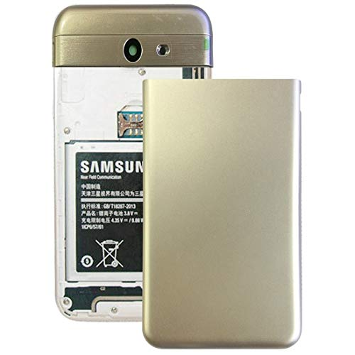 Godlikematealliance Back Cover GuoBo Backcover Back Cover für Galaxy J7 V / J727V (Verizon) (Grau) (Farbe : Gold)