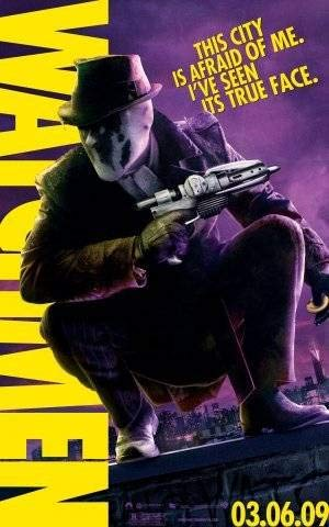 (Watchmen – Rorschach – US Imported Movie Wall Poster Print - 30CM X 43CM DC)