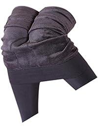 e2dbfa76 Koly Women's Winter Thick Warm Fleece Lined Thermal Stretchy Leggings Pants