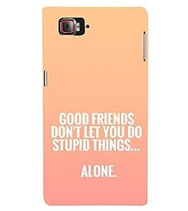 EPICCASE Friendship Quote Mobile Back Case Cover For Lenovo Vibe Z2 Pro K920 (Designer Case)