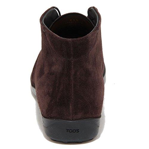8378N polacchino donna TOD'S scamosciato marrone shoes woman testa di moro