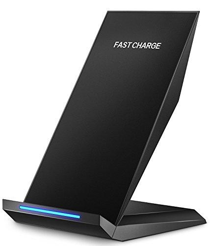 Schnelles Wireless Ladegerät, Pasonomi Qi Drahtlose Induktive Ladestation für Samsung Galaxy Note 8 / S8/ S8 plus/ S7 / S7 Edge/ S6 Edge Plus / Note 5, iPhone 8 / iPhone 8 Plus / iPhone X, und alle Qi Fähige Geräte