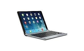 BRYDGE 10.5, Hochwertige Bluetooth Tastatur aus Aluminium, deutsches Layout QWERTZ, für das iPad Pro 10.5, space grau