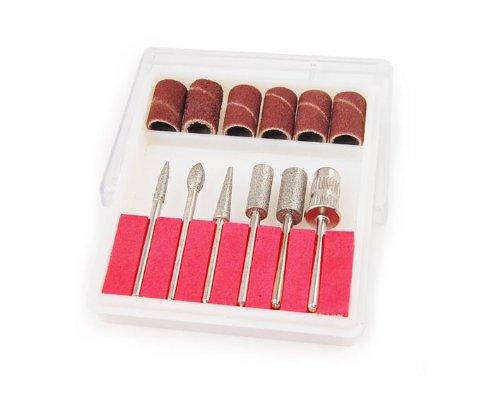 Preisvergleich Produktbild TOOGOO(R) Nagel Kunst Bohrer-Set fuer Manikuere elektrische Nagelfeile
