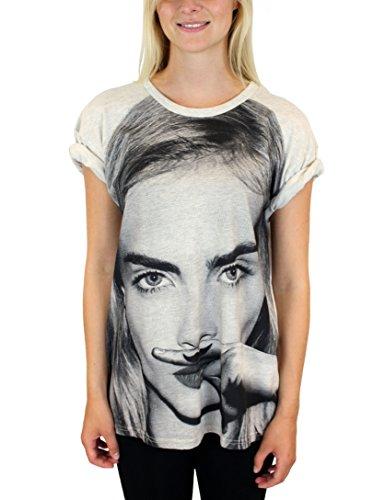 Eleven Paris - T-shirt, Donna Grigio (Grau)