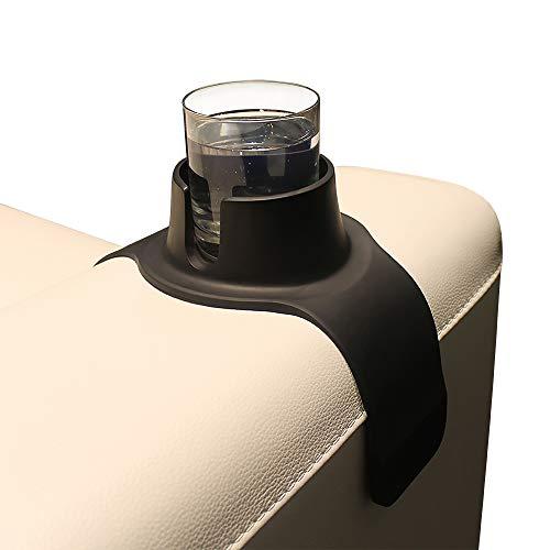 COUCHCOASTER, der ultimative Getränkehalter in Einheitsgröße, Tiefschwarz