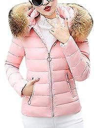 negozio online bff0c 4e5d5 Amazon.it: Rosa - Giacche / Giacche e cappotti: Abbigliamento