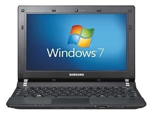 Samsung N350 10.1 inch netbook (Intel Atom Dual Core Processor N550, 1GB RAM, 250GB HDD, WLAN, Bluetooth, Webcam, Up to 6hrs battery life, Windows 7 Starter) - Black