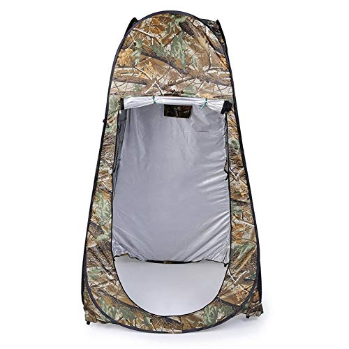 gfjfghfjfh Outdoor Moving Shower WC Zelt Privatsph?re ?ndern Bad Shelter Umkleidekabine wasserdicht Pop Up 180 t Zelt mit Tasche Camouflage -