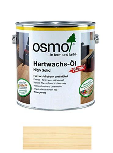 OSMO Polyx Hartwachsöl-Rapid matt 32620,75ltr Dose