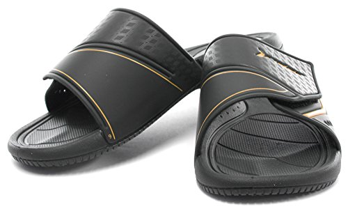 Rider Brasil Speed III 2015 Herren Pool Sandalen Black/Orange