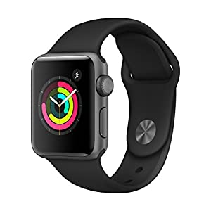 Apple Watch Series 3 GPS, Silver Aluminium Case with White Sport Band