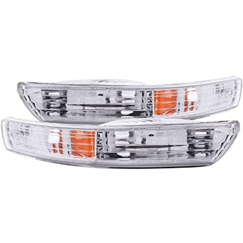 Anzo USA 511021 Acura Integra Chrome Euro w/Amber Reflector Bumper Light Assembly - (Sold in Pairs) by AnzoUSA