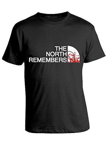 Tshirt the north remembers - humor - game of thrones - il trono di spade - serie tv - in cotone