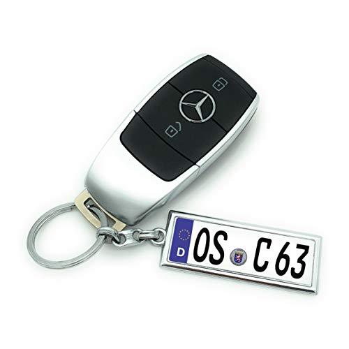Saphir Design Mini Kennzeichen/Schlüsselanhänger in Hoher Qualität