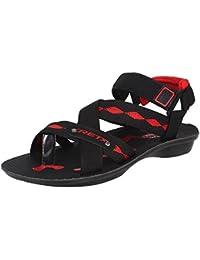 Bersache Men/Boys Black-934 Sandals & Floaters
