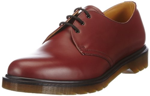 Dr. Martens 1461 DMC PW SM-B 11839002, Scarpe basse unisex adulto Rosso (Rot (red)