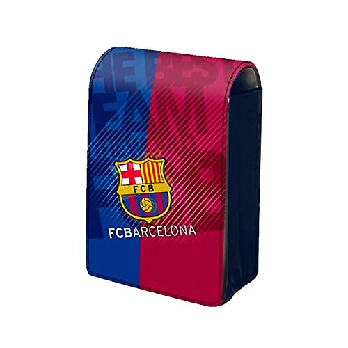 Pitillera para paquete cigarrillos normales. Solapa imantada. Producto oficial FCBarcelona.